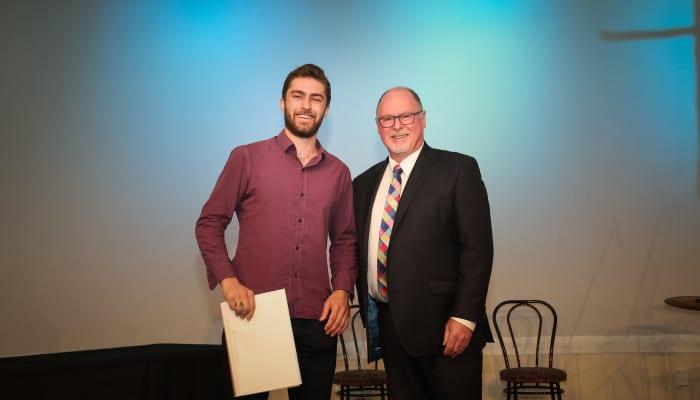 Rory Collins - Year 13 Academic Excellence, Bickerton Widdowson Scholarship and Dux Award Winner